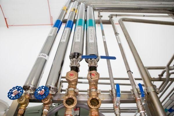 vvs svendborg - vand ventiler teknikrum